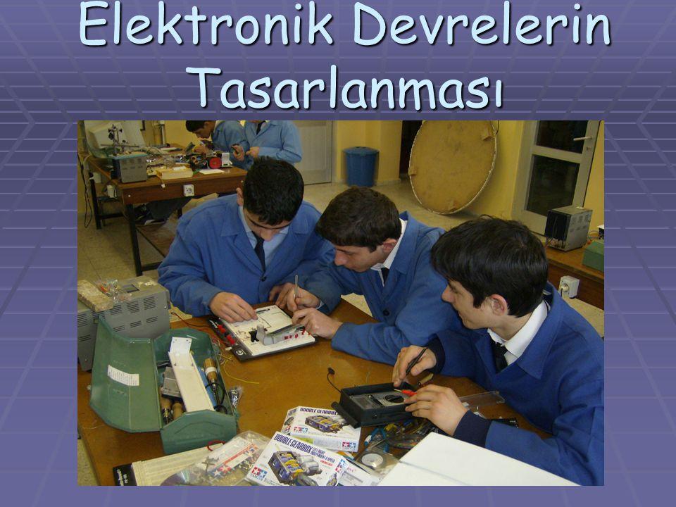 Elektronik Devrelerin Tasarlanması