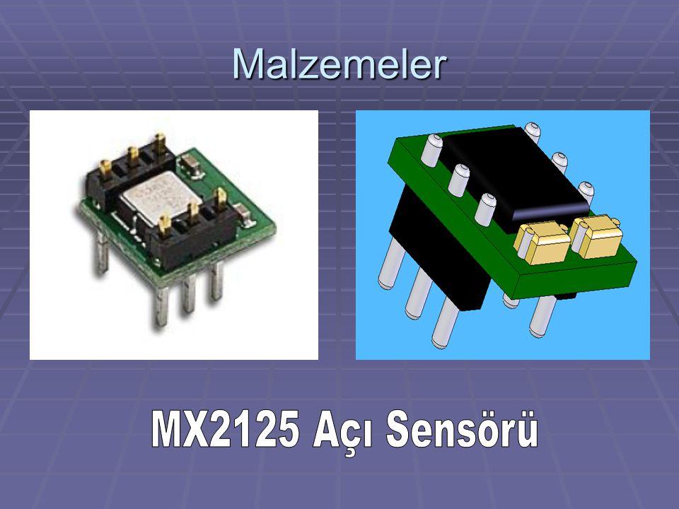 Malzemeler MX2125 Açı Sensörü