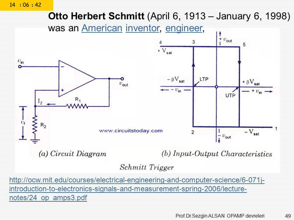 Otto Herbert Schmitt (April 6, 1913 – January 6, 1998)