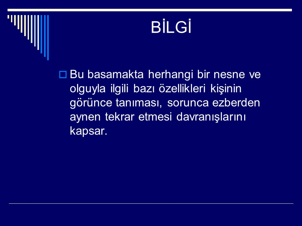 BİLGİ