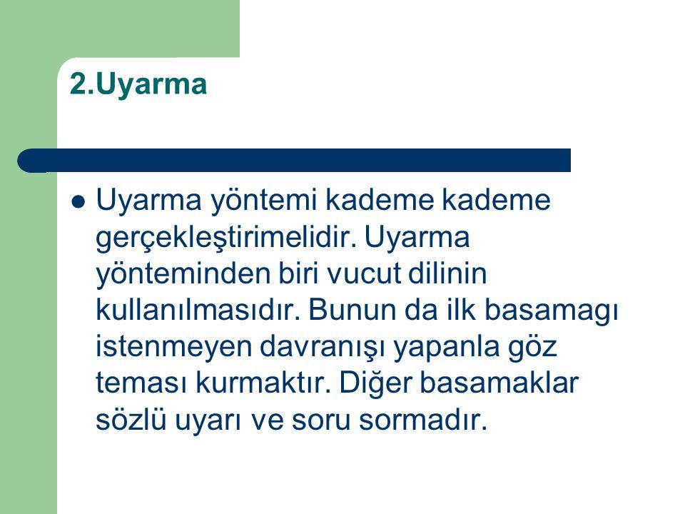 2.Uyarma