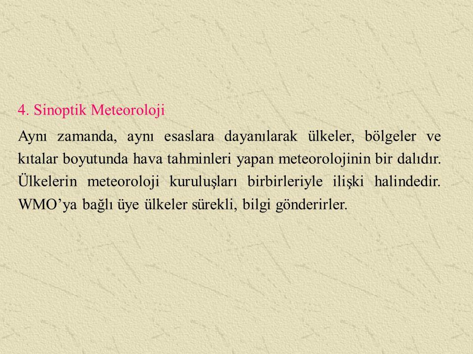 4. Sinoptik Meteoroloji