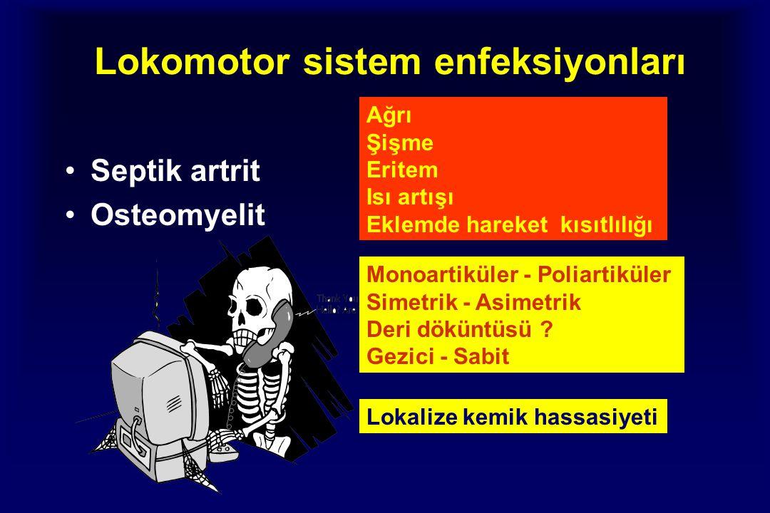 Lokomotor sistem enfeksiyonları