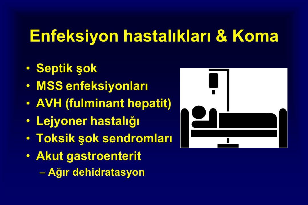 Enfeksiyon hastalıkları & Koma