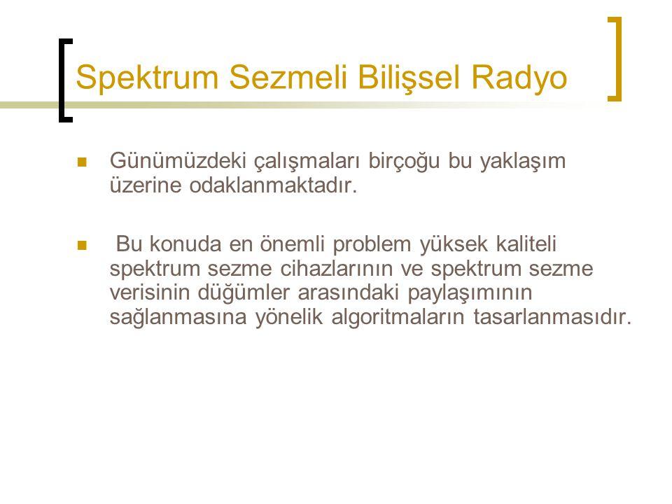 Spektrum Sezmeli Bilişsel Radyo
