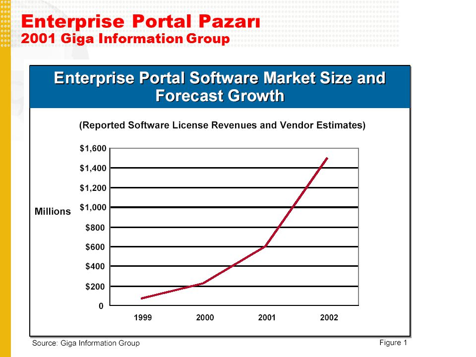Enterprise Portal Pazarı 2001 Giga Information Group