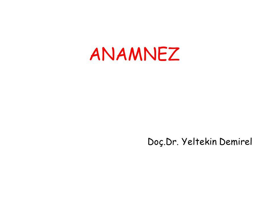 Doç.Dr. Yeltekin Demirel