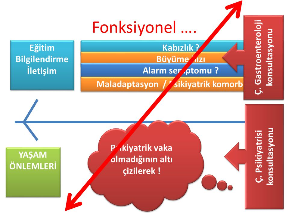 Fonksiyonel …. Ç. Gastroenteroloji konsultasyonu Eğitim Bilgilendirme