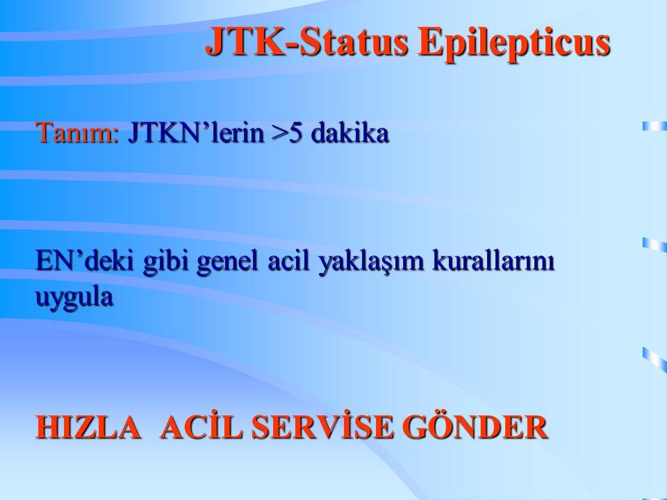 JTK-Status Epilepticus