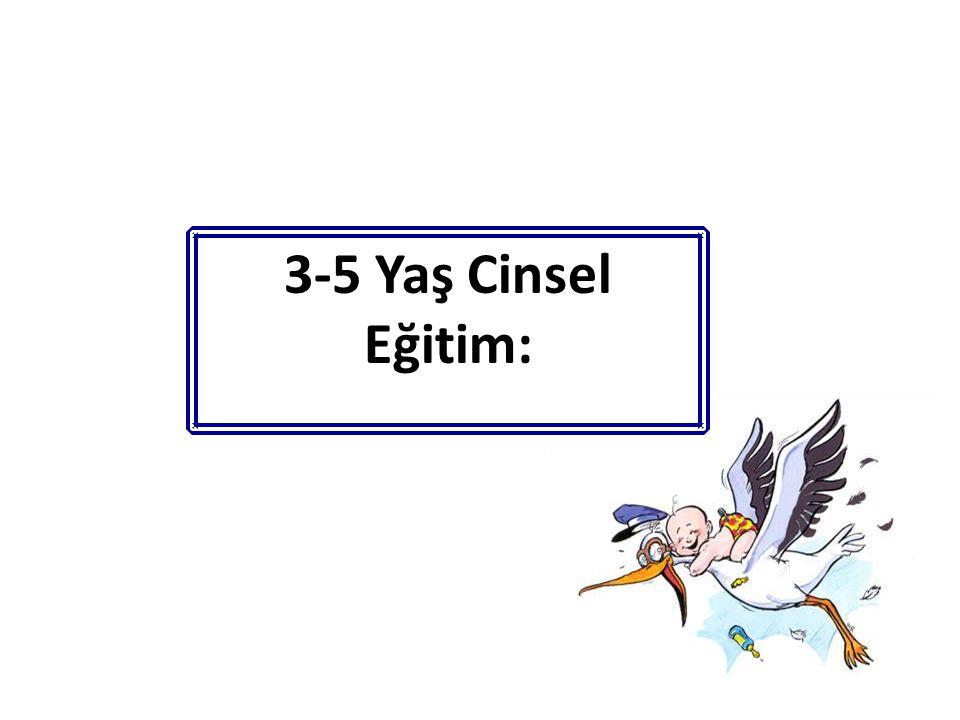 3-5 Yaş Cinsel Eğitim: