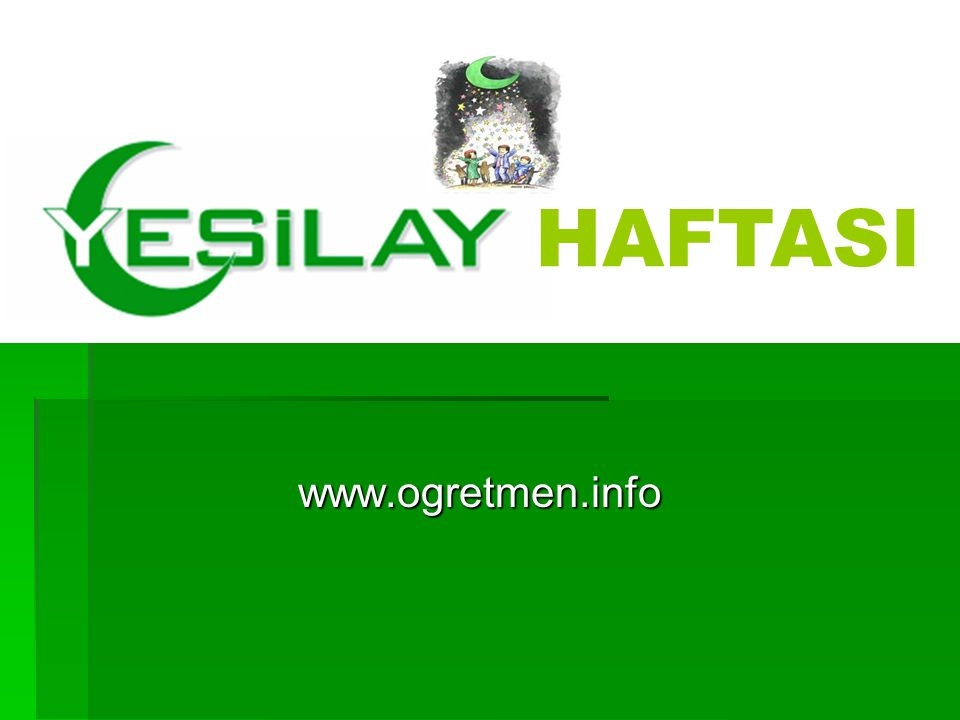 HAFTASI www.ogretmen.info