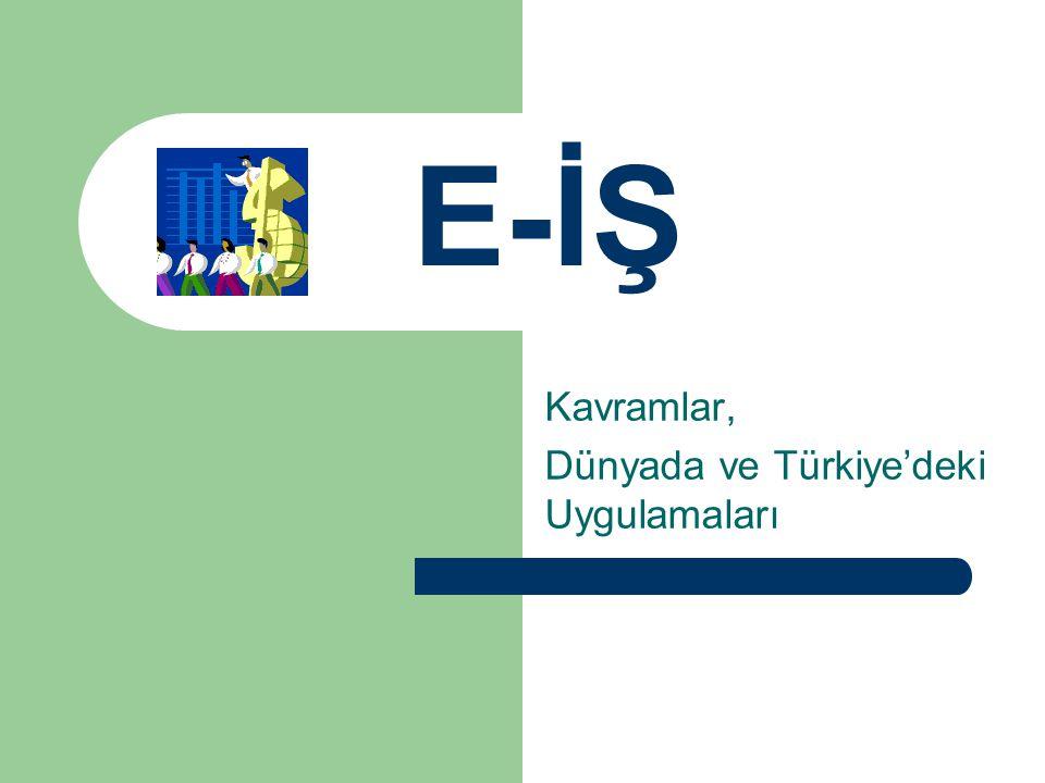 Kavramlar, Dünyada ve Türkiye'deki Uygulamaları