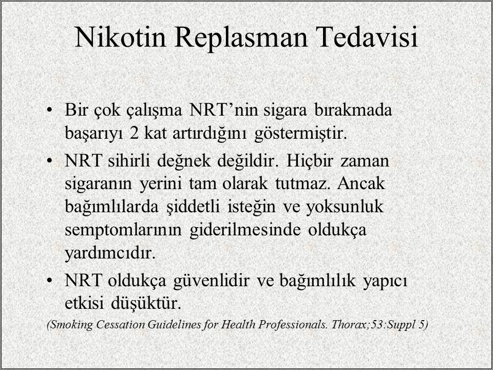 Nikotin Replasman Tedavisi