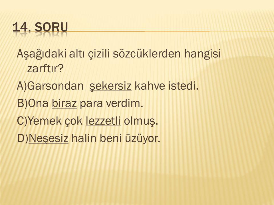 14. SORU