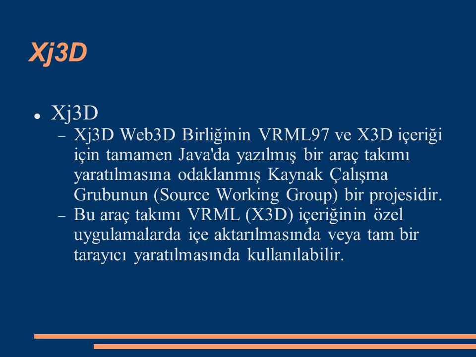 Xj3D Xj3D.