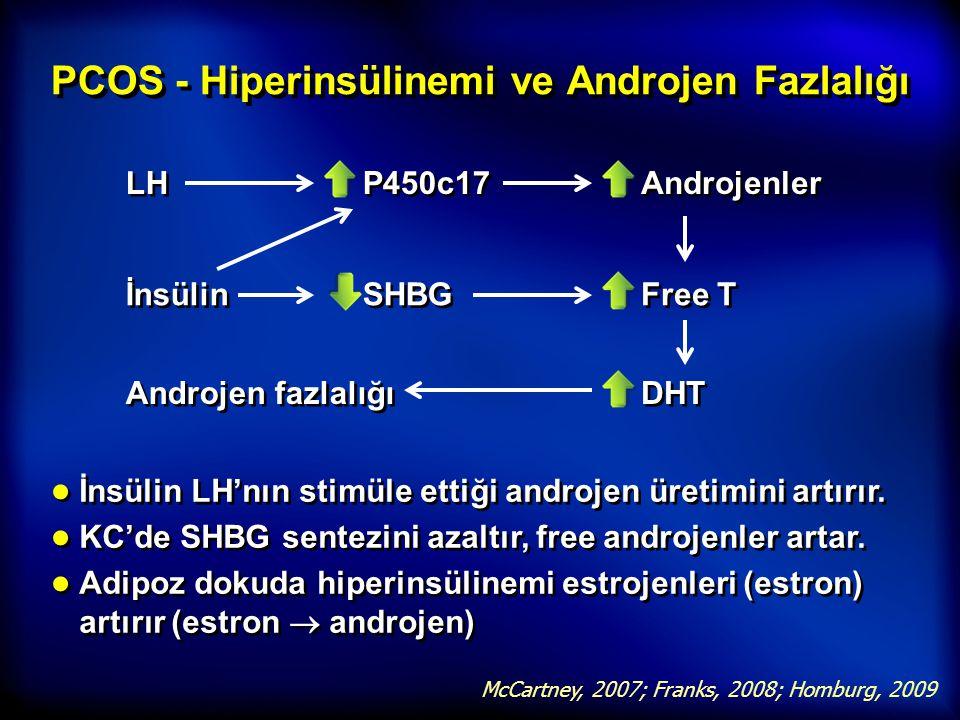 PCOS - Hiperinsülinemi ve Androjen Fazlalığı
