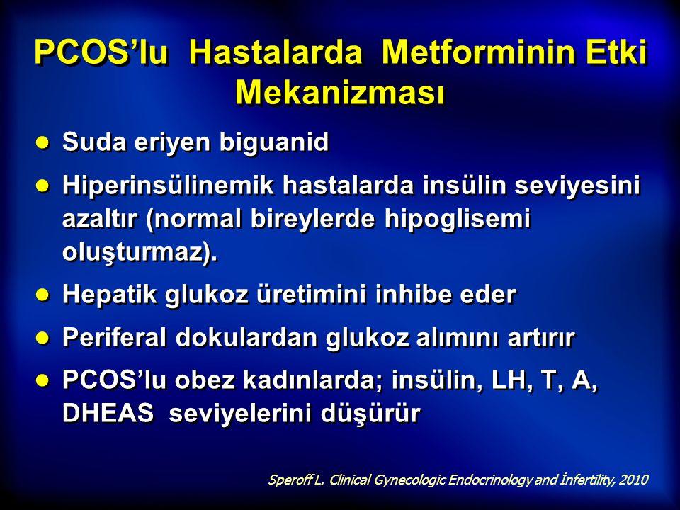 PCOS'lu Hastalarda Metforminin Etki Mekanizması