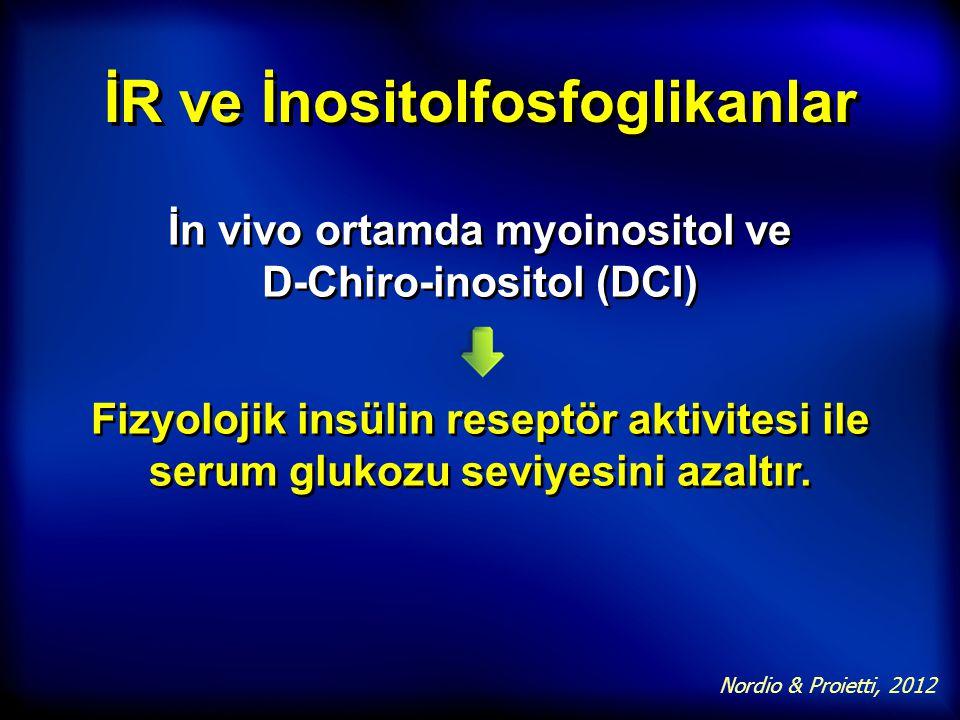 İR ve İnositolfosfoglikanlar