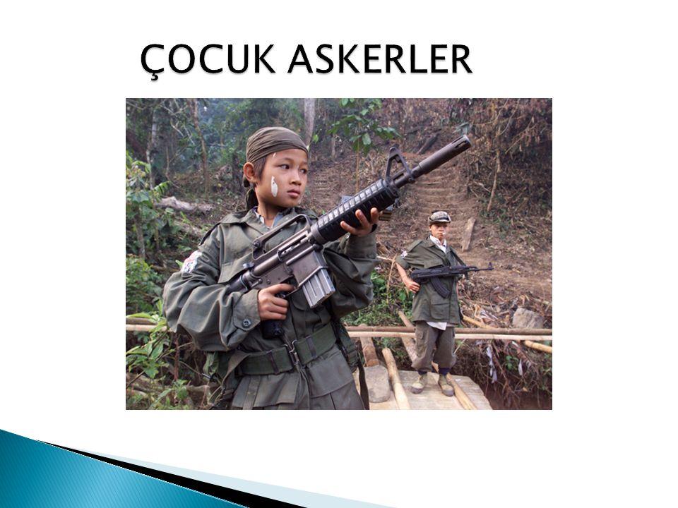 ÇOCUK ASKERLER