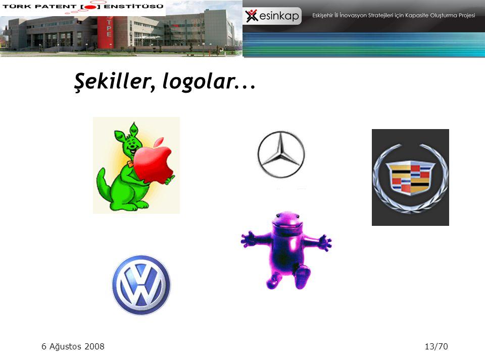 Şekiller, logolar... 6 Ağustos 2008