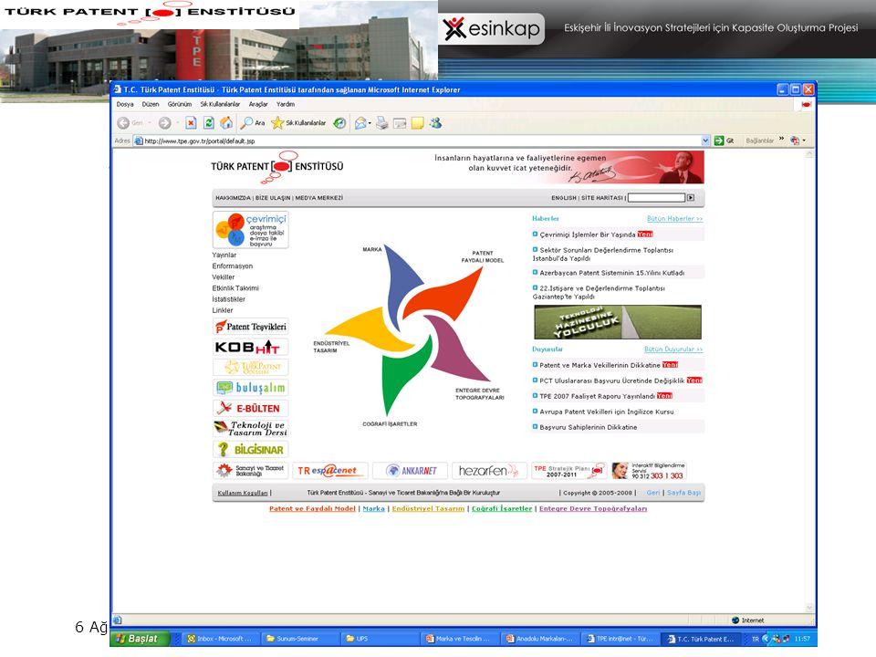 MARKA PATENT TASARIM İnternetten Başvuru - Araştırma- Dosya Takibi