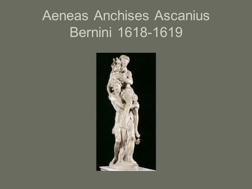 Aeneas Anchises Ascanius Bernini 1618-1619
