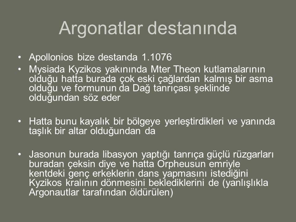 Argonatlar destanında
