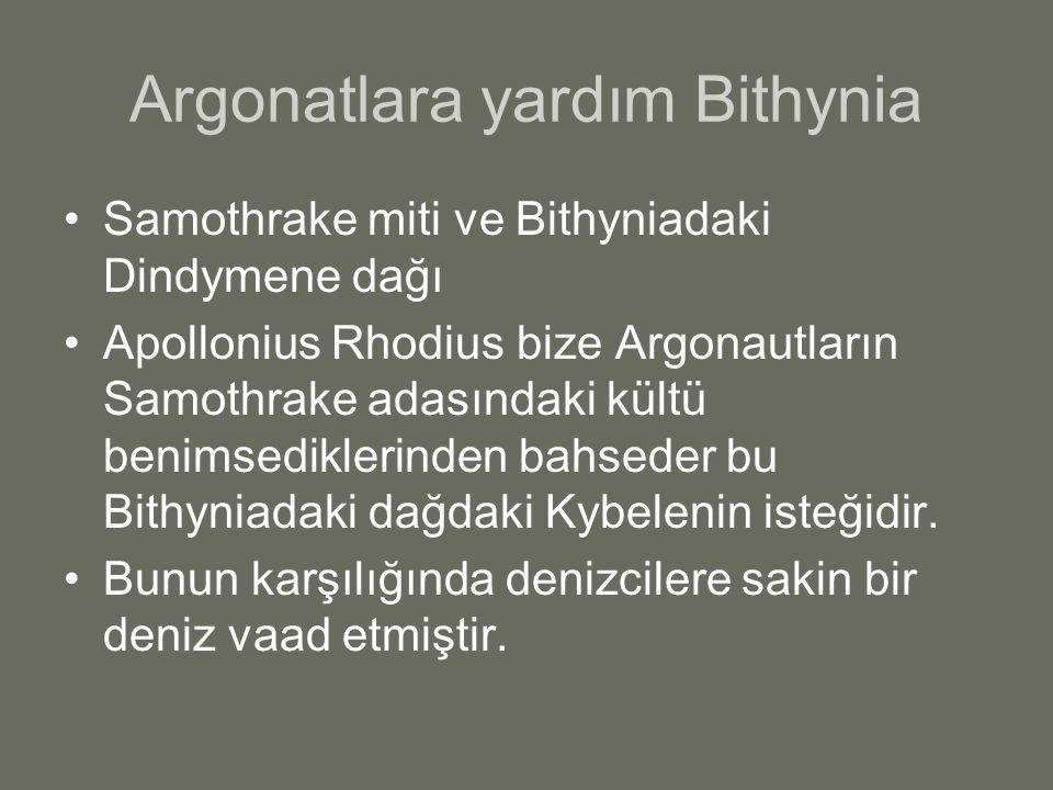 Argonatlara yardım Bithynia