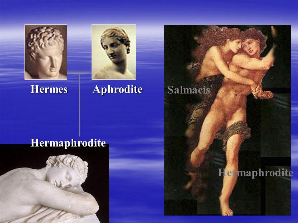 Salmacis Hermaphrodite Hermes Aphrodite Hermaphrodite