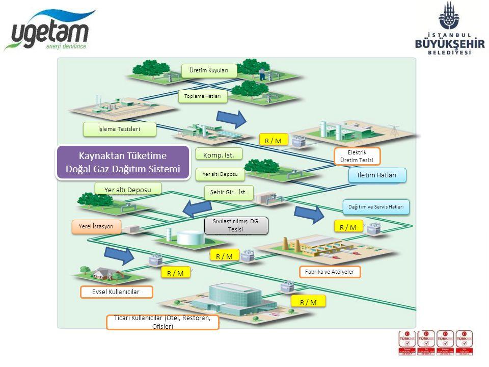 Doğal Gaz Dağıtım Sistemi