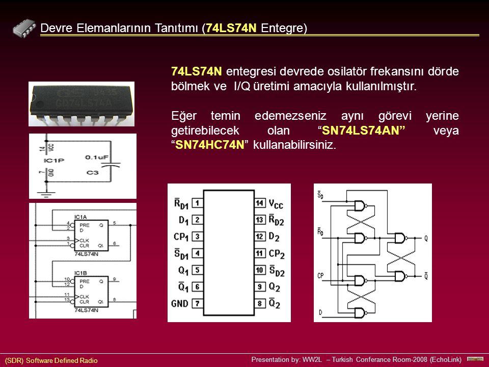 Devre Elemanlarının Tanıtımı (74LS74N Entegre)