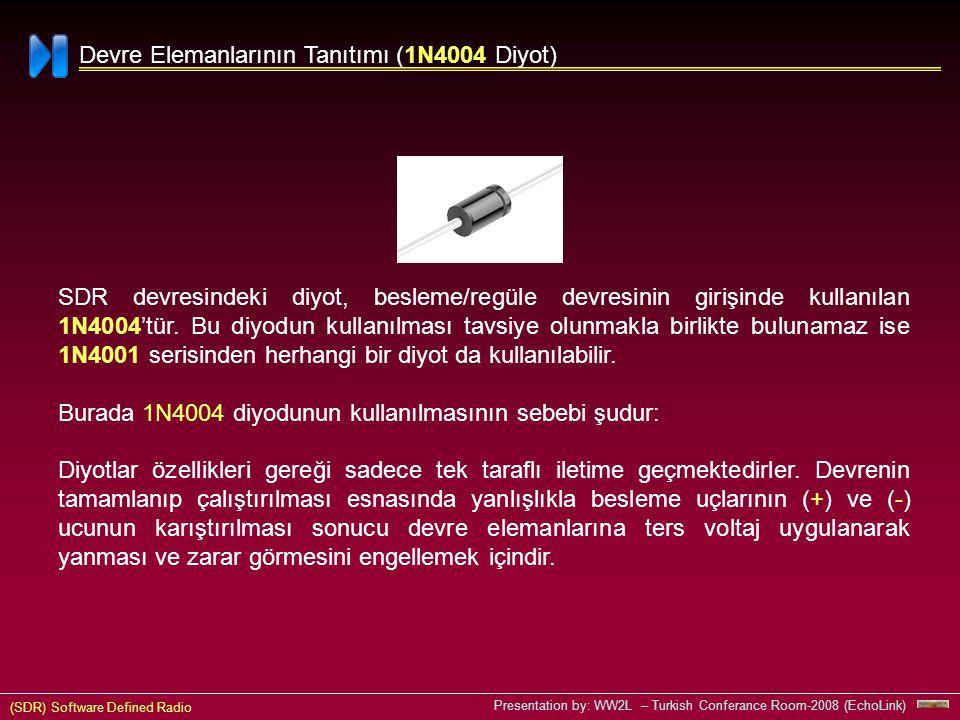 Devre Elemanlarının Tanıtımı (1N4004 Diyot)