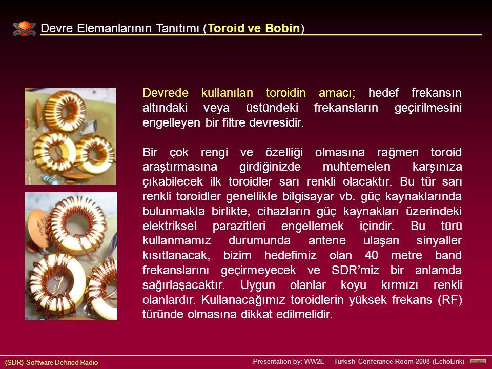 Devre Elemanlarının Tanıtımı (Toroid ve Bobin)