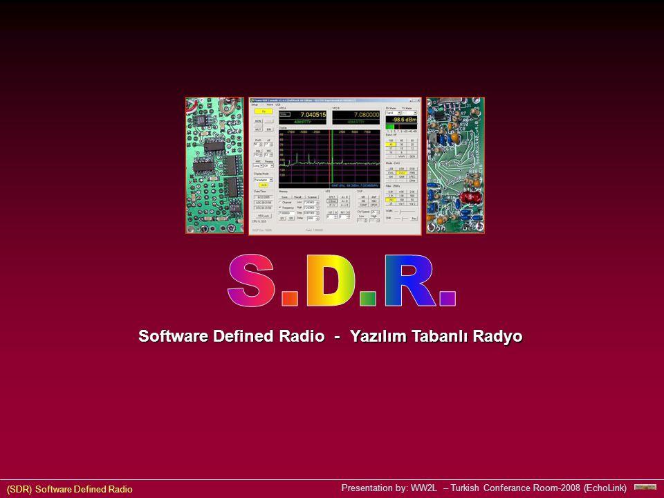 Software Defined Radio -