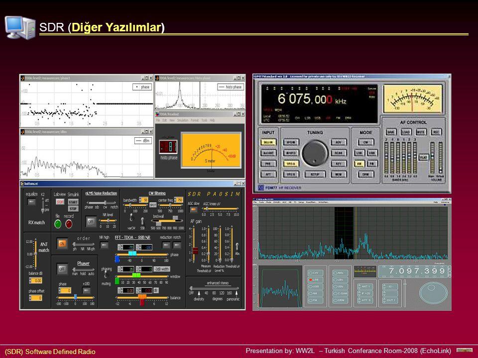 SDR (Diğer Yazılımlar)