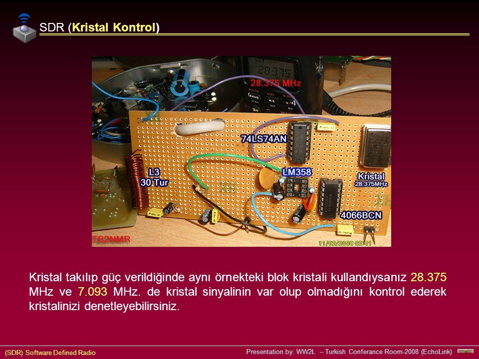 SDR (Kristal Kontrol)
