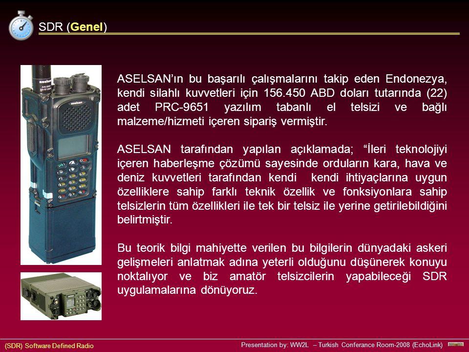 SDR (Genel)