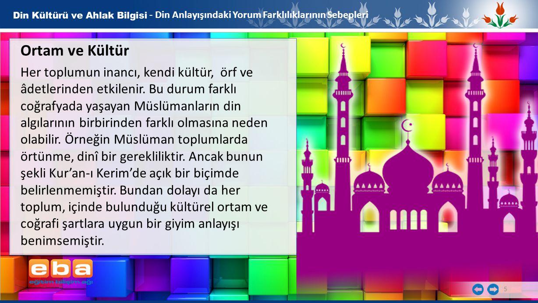 - Din Anlayışındaki Yorum Farklılıklarının Sebepleri