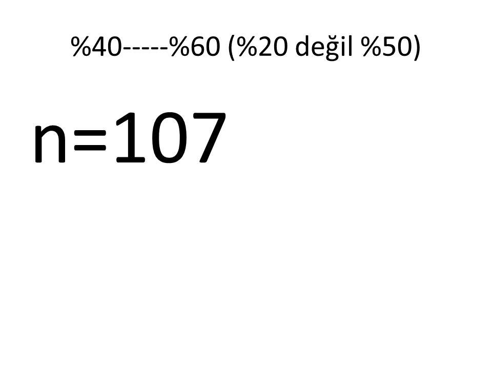 %40-----%60 (%20 değil %50) n=107