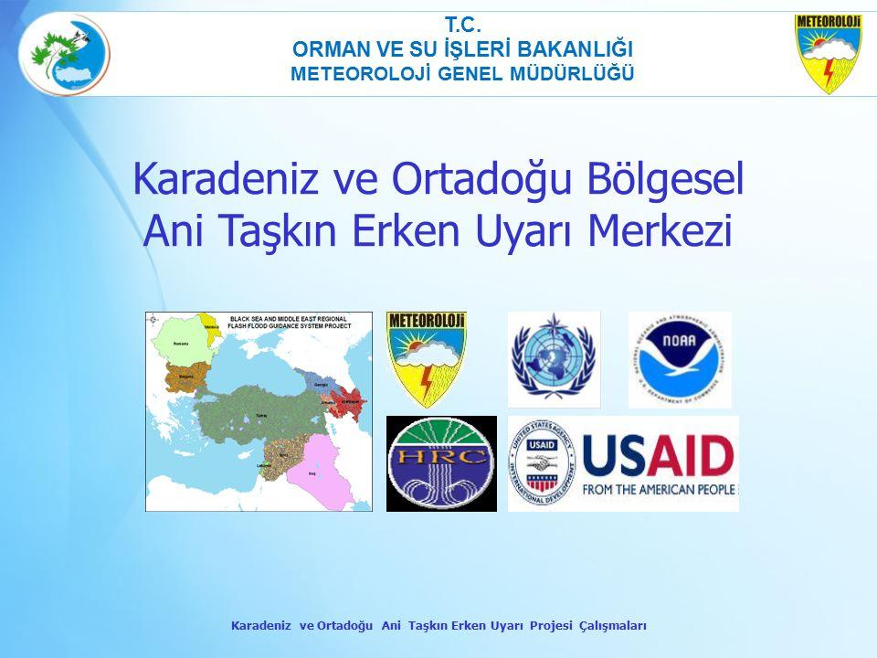 Karadeniz ve Ortadoğu Bölgesel Ani Taşkın Erken Uyarı Merkezi