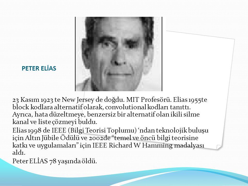 PETER ELİAS