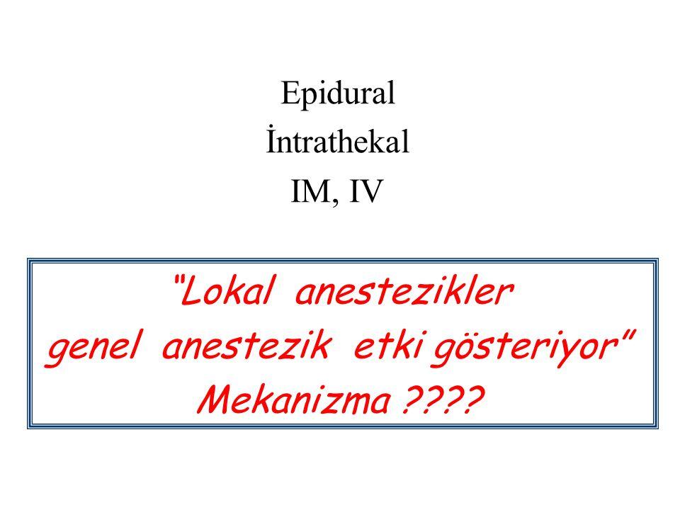 genel anestezik etki gösteriyor