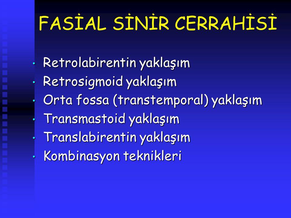 FASİAL SİNİR CERRAHİSİ