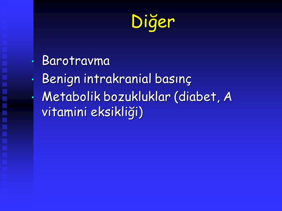 Diğer Barotravma Benign intrakranial basınç