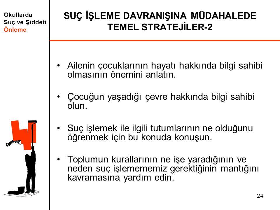 SUÇ İŞLEME DAVRANIŞINA MÜDAHALEDE TEMEL STRATEJİLER-2