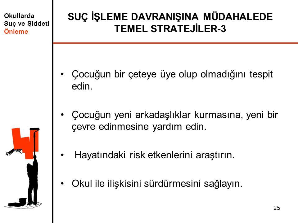 SUÇ İŞLEME DAVRANIŞINA MÜDAHALEDE TEMEL STRATEJİLER-3