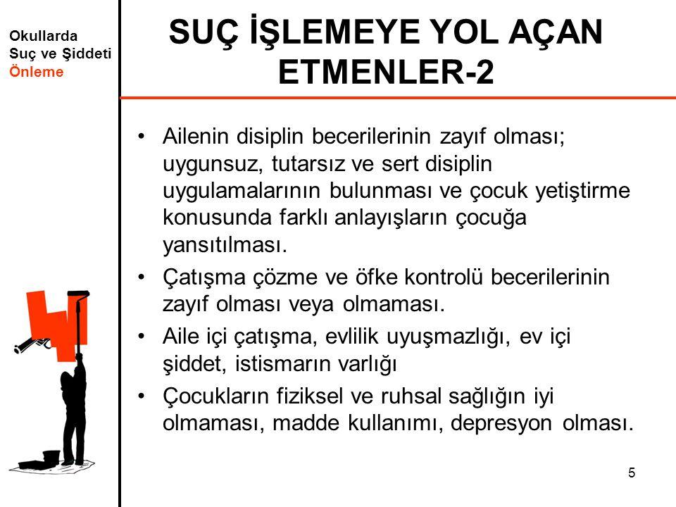 SUÇ İŞLEMEYE YOL AÇAN ETMENLER-2