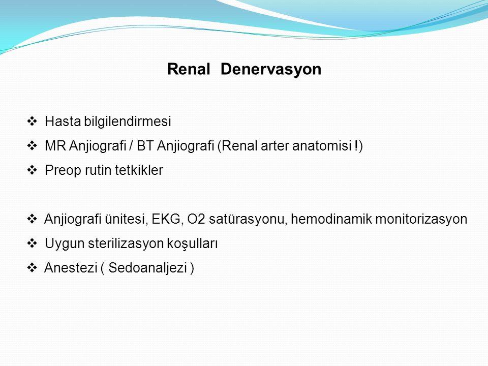 Renal Denervasyon Hasta bilgilendirmesi