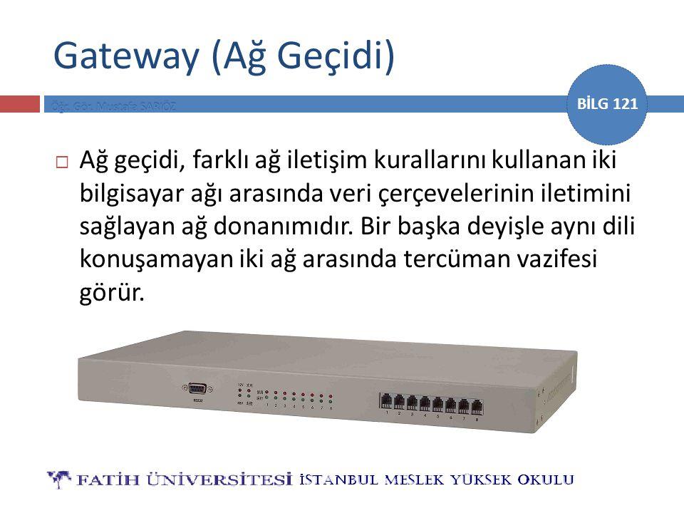 Gateway (Ağ Geçidi)