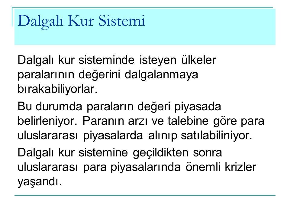 Dalgalı Kur Sistemi